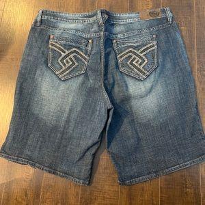 NYC Hydraulic Denim Stretchy Jean Shorts